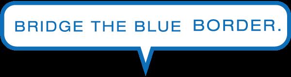 bridge the blue border
